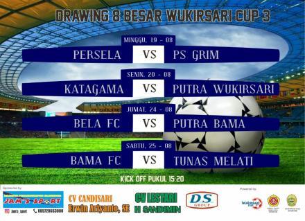 Babak 8 Besar Wukirsari Cup III