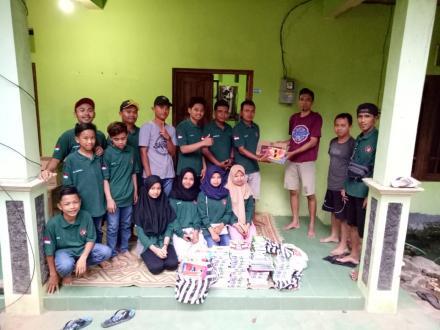 Aksi Peduli Persatuan Pemuda Jatirejo (PPJ) terhadap Korban Bencana