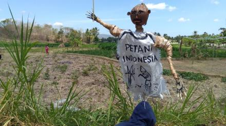 Lomba Kreasi Memedi Sawah dan Layang-Layang Dusun Singosaren