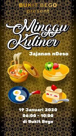 Minggu Kuliner Bukit Bego