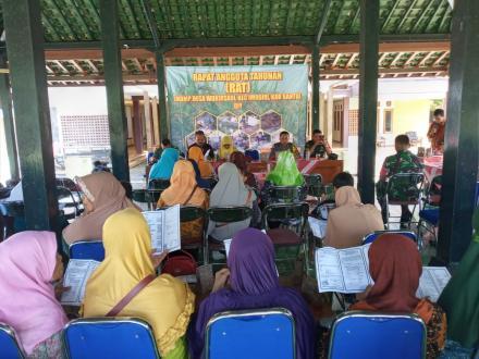 Rapat Anggota Tahunan LKDMP Usaha Mandiri Desa Wukirsari