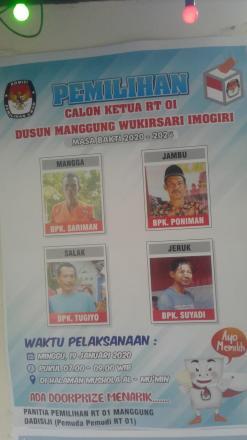 Warga RT 01 Dusun Manggung Menyerbu Musala