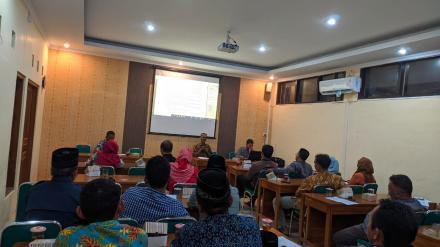 Pembekalan TPK Desa Wukirsari 2020