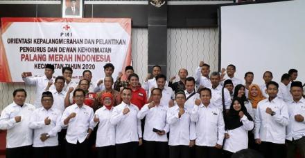 Pelantikan Pengurus dan Dewan Kehormatan PMI Kecamatan se-Kabupaten Bantul