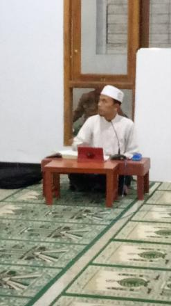 Kajian Rutin Bulughul Maram Masjid Baiturrahman Sindet