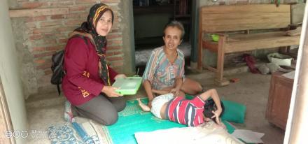 Desa Wukirsari Distribusikan Program Boga Sehat Tahun 2020