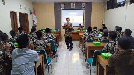 LPMD Sendangsari menjadi Narasumber Pembinaan Pokgiat LPMD se-Desa Wukirsari