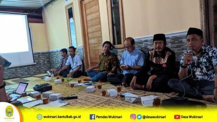 Sosialisasi Program DAK Sanitasi Tahun 2020 Dusun Bendo