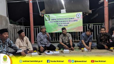 Jaring Aspirasi Masyarakat BPD di Dusun Bendo