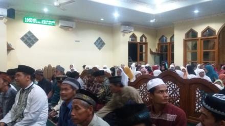 Majelis Mujahadah Wali Kutuban Tolak Bala Masjid Al-Ikhlas Dusun Jatirejo