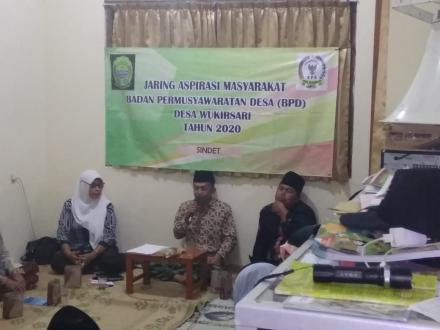 Jaring Apirasi Masyarakat Dusun Sindet