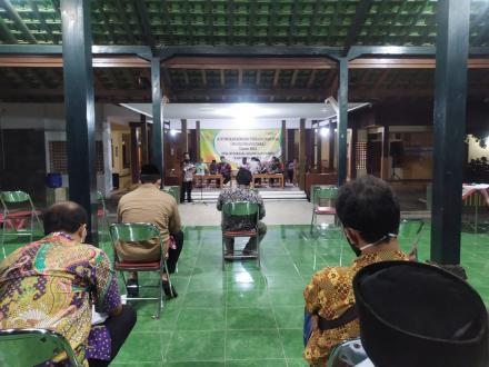 Pemerintah Desa Wukirsari Gelar Musrenbangdes Tahun 2021
