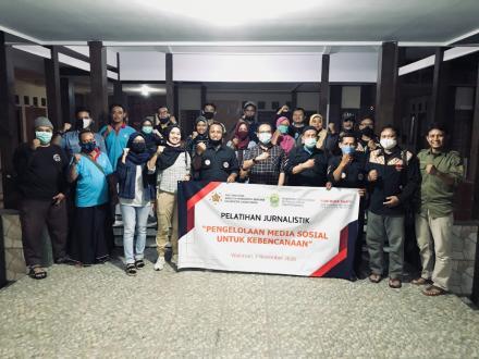 Magister Manajemen Bencana UGM Gelar Pelatihan Jurnalistik dan Pemetaan Kebencanaan di Wukirsari