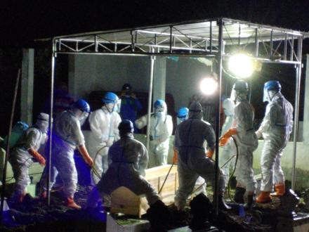 TKC FPRB Bima Sakti Kembali Lakukan Pemakaman Jenazah Pasien Covid-19