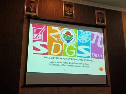 Sosialisasi SDGs Desa Wukirsari 2021