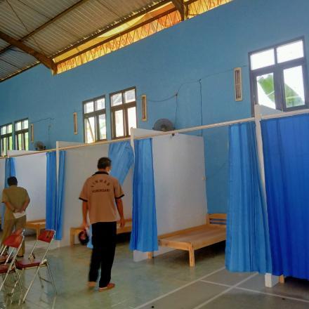 Penyuluhan dan Peninjauan Shelter Kalurahan Wukirsari