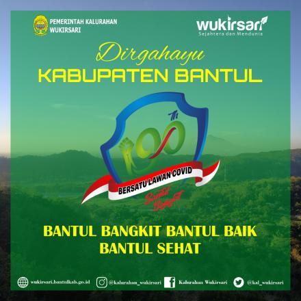 Dirgahayu Kabupaten Bantul