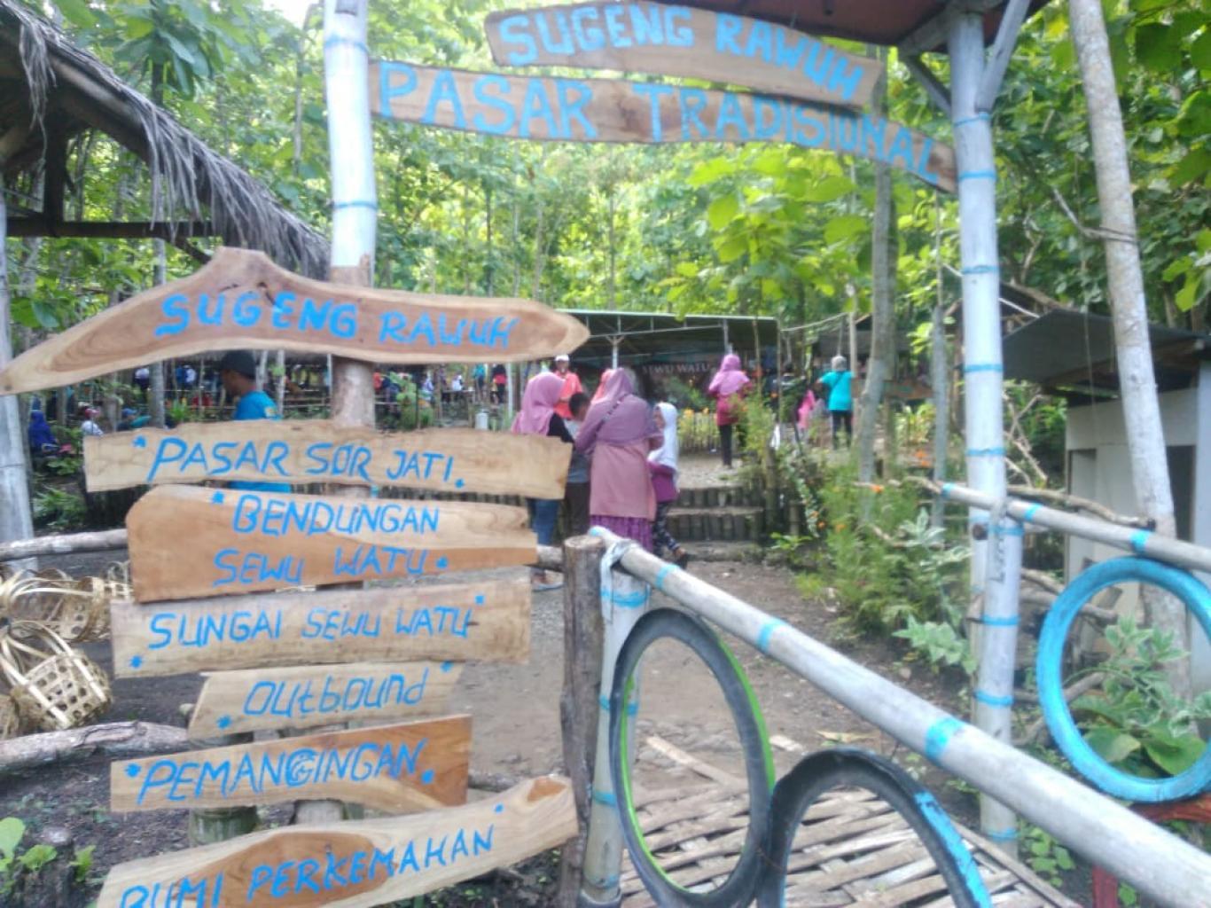 Pasar Sor Jati Dibanjiri Ribuan Pengunjung Website Kalurahan Wukirsari